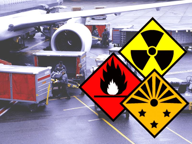 Авиа перевозка опасных грузов