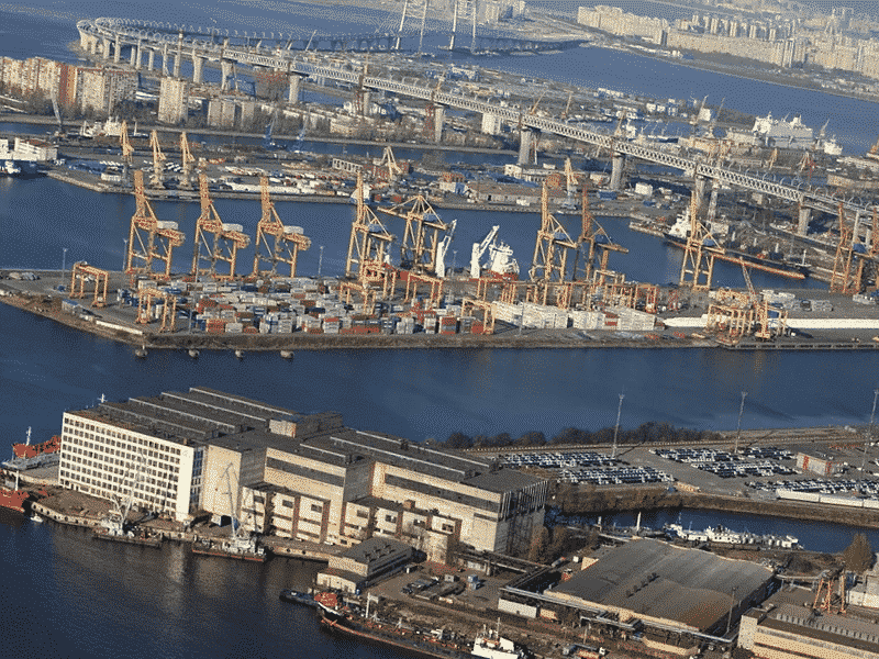 Таможенное оформление в портах Санкт-Петербурга