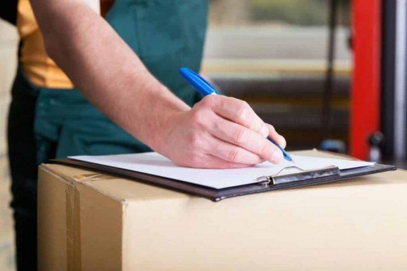 Документы для транспортировки товаров